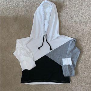 zaful cropped hoodie!!